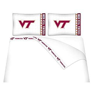 NCAA Virginia Tech Hokies Micro Fiber Sheet Set (Queen)