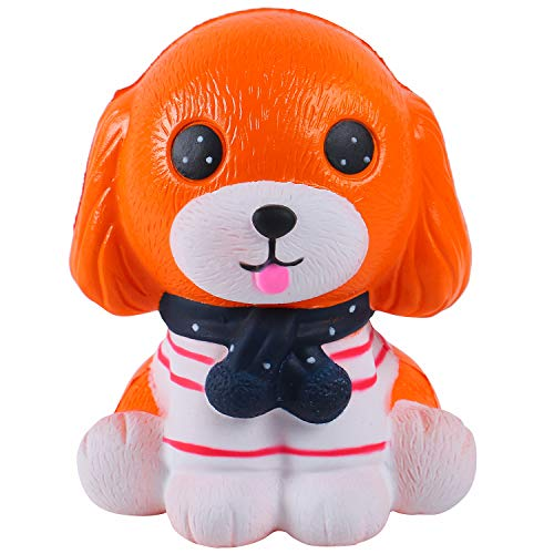 AOLIGE Jumbo Dog Squishy Slow Rising Toys Kawaii Squishies for Baby Toddler Pack of 1