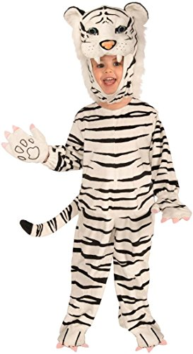 [Deluxe White Tiger Kids Costume] (White Tiger Costumes)