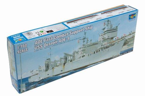 Trumpeter 1/700 USS Detroit AOE4 Sacramento Class Fast Combat Support Ship Model Kit Fast Combat Support Ships