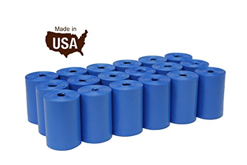Five Star Pet Dog Waste Bags with Dispenser, 18 Refill Rolls, 270 Counts (Pet Waste Bag Refills)
