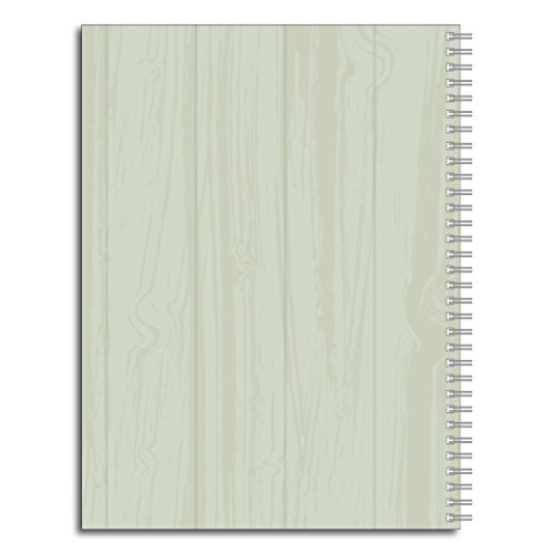 Dream It Inspirational Personalized Floral Notebook/Journal, 120 Wide Ruled or Checklist Pages, durable laminated cover, and wire-o spiral. 8.5x11 | 5.5x8.5 | Made in the USA Photo #2