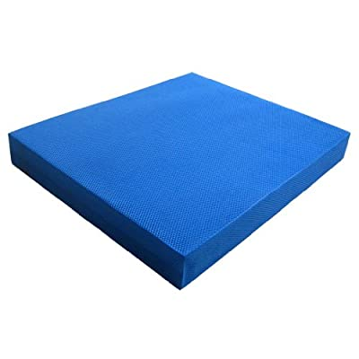 """Yes4All Blue Balance Pad - Special sales - Choose between X-Large (19x15x2.5"""") & Large (15.5x13.5x2"""") - Fast Shipping from Yes4All"""