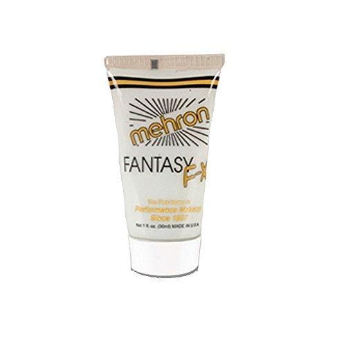 [FFX (1oz, Moonlight White) Mehron Fantasy FX Tube Makeup] (Moonlight White Fantasy Fx Makeup)
