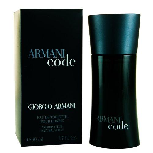 Armani Code par Giorgio Armani pour les hommes. Eau de Toilette Vaporisateur 1,7 Onces