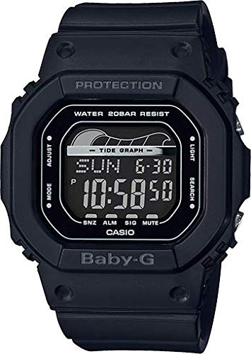 Casio Baby G Digital Dial Polyurethane Strap Ladies Watch BLX-560-1 (Baby G Watch Dial)