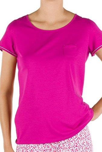 Calida - Camiseta - para mujer Pink Petunia