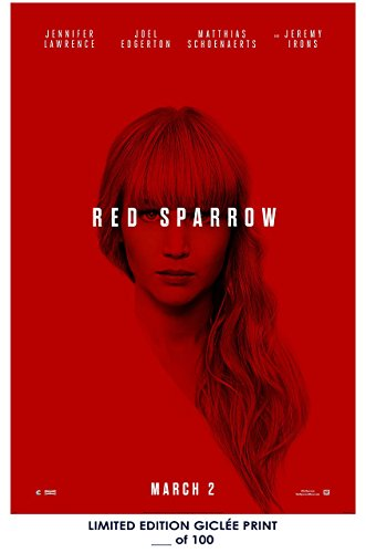 rare jennifer lawrence red sparrow