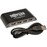 Tripp Lite 4-Port USB 2.0 Hi-Speed Hub - 4 x Type A Female USB 2.0 USB Downstream, 1 x 5-pin Mini Type B Female USB 2.0 USB Upstream - External