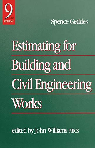 Estimating for Building & Civil Engineering Work, Ninth Edition