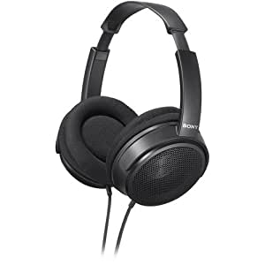 Sony Over The Ear Stereo Headphones, Super Lightweight with Wide Adjustable Headband, Supra-Aural Ear-Cup with Open Air Design, and Flexible Ear Fit Mechanism, Large 40mm Drivers, A 3.0 Meter, Y-Type Cable Lets You Connect To Various Audio Devices, Computers, and Home Audio Gear