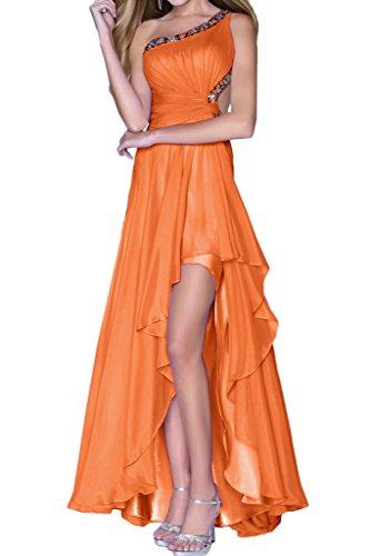 Abendkleid Lo Chiffon Steine Modern Promkleid Ivydressing Festkleid Rueckenfrei Orange Partykleid Damen Hi 4nZaYqWvI