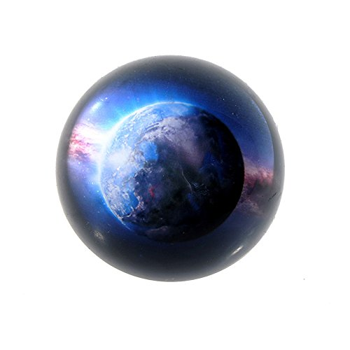 Planet Paperweight - FunnyToday365 3 3D Planet Pattern Crystal Half Ball Paperweight Quartz Sphere Fengshui Ornaments Home Decor Figurines Souvenir Gifts
