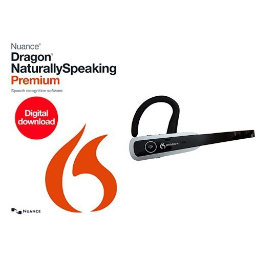 Dragon Premium 13.0 [Download] with Dragon Bluetooth Wireless Headset