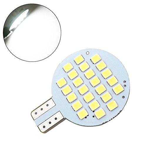 Glming 921 194 192 C921 T10 LED Bulb Light SMD 24-2835 AC/DC 12V -24V RV Trailer Interior Camper Lamp Super Bright Cool White Pack of 6 by GLMING