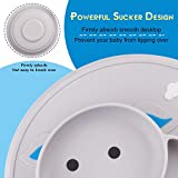 Baby Silicone Plate Suction Toddler Plates Mini