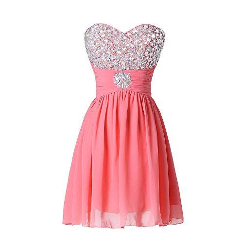 spalline Rosso Bridal Senza Vestito Mall Donna Senza maniche 6n6qHpawx