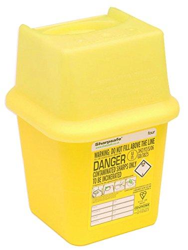 Safety First Aid Clinical Waste Disposal Bin, 4 L 1030006144