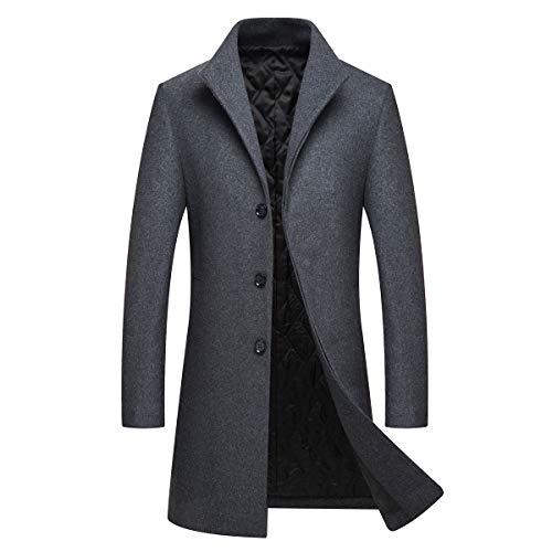 Sweet Outwear Allthemen cappotto giacca lungo Pea uomo Grey Top inverno caldo nwwxC7Yq