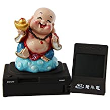 GH Full Hd Car Dash Cam Fu Lu Shou Happiness Buddha Black Box with 120-degree Wide Angle and G-sensor Including SanDisk 32GB Class 4 SD Card