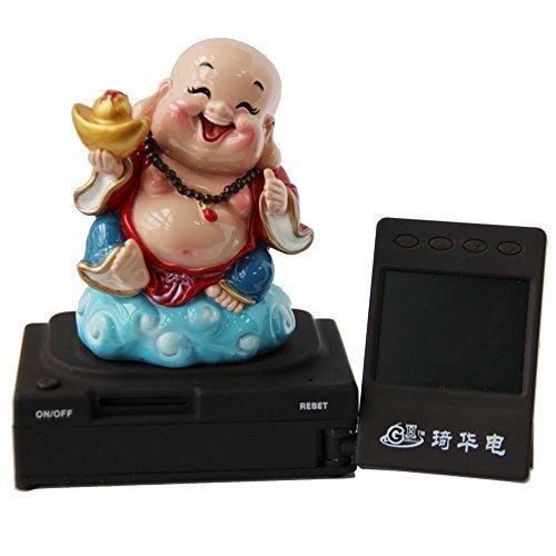 GH Full Hd Car Dash Cam Fu Lu Shou Happiness Buddha 1920*1080 Black Box with 120-degree Wide Angle and G-sensor Including SanDisk 32GB Class 4 SD Card