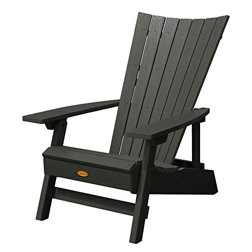 Highwood AD-ADRID29A-CHE Manhattan Beach Adirondack Chair, One Size, Charleston Green (Renewed)