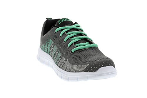 max-Q.com Easys Lauf- und Fitnessschuhe Lightweight Neutral Damen Women summer grey mint