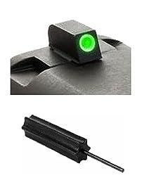 AmeriGlo SW-800-230 Smith & Wesson M&P & M&P Shield Classic Green Tritium White Outline .230\
