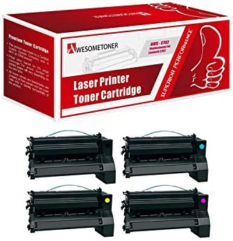 617s Awesometoner/ Remanufactured/ Made in USA Extra High Yield Toner/ Cartridge/ Replacement/ for/ Lexmark 51B1X00 51B0XA0 use/ with/ MS517s 617s Black, 3-Pack MX517s