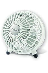 Kaz Chillout USB Fan, White