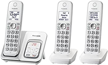 Panasonic 3-Handset Expandable Cordless Phone System