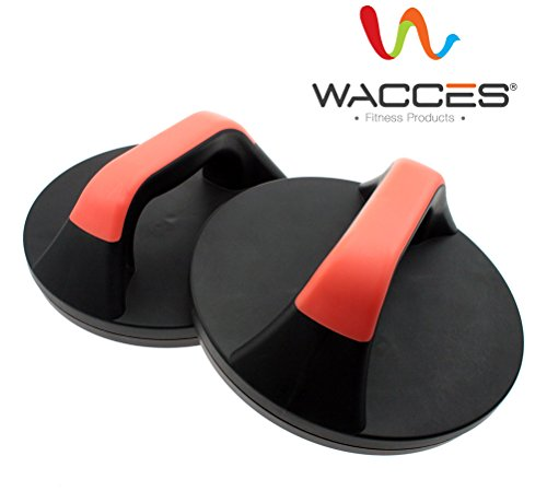 Wacces Rotating Push up Push up Stand Bar for Workout Exercise