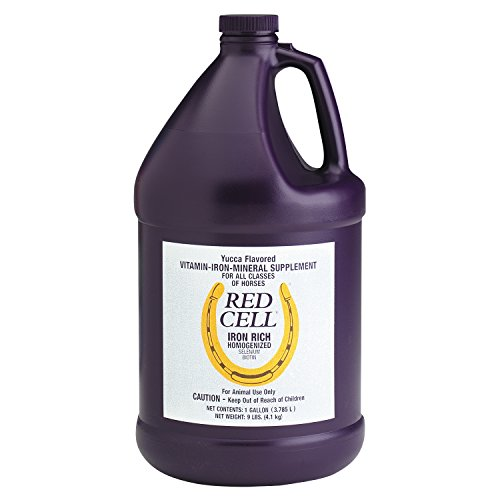 FARNAM 74110 Horse Red Cell Gel Supplement, 1 Gallon