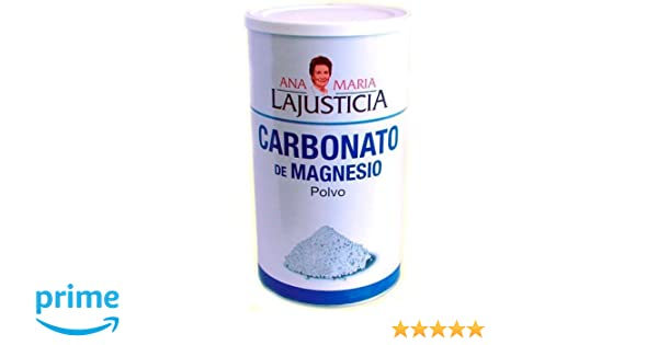 Amazon.com: ANA MARIA LAJUSTICIA CARBONATO MAGNESIO 180gr: Health & Personal Care