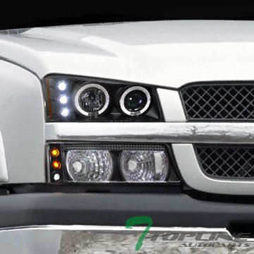 06 chevy halo headlights - 7