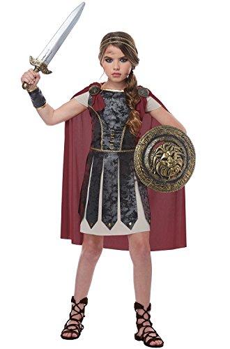 Fearless Gladiator Girls Costume Black/Red ()