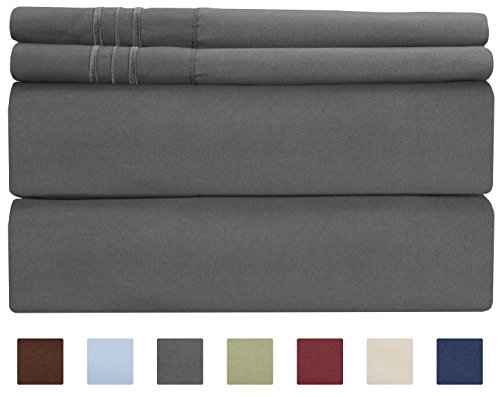 Top 10 best grey sheets king size egyptian cotton 2019