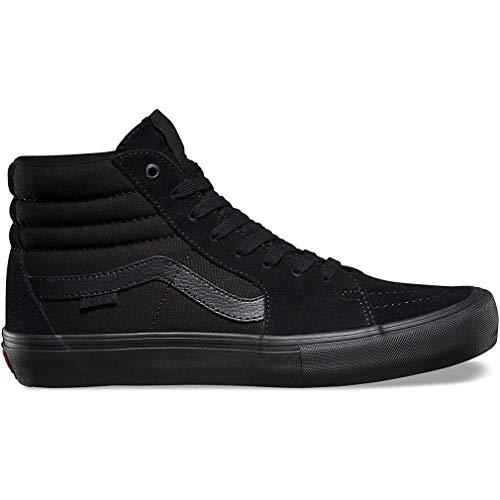 (Vans Men's Shoes SK8-Hi Pro Blackout Black Sneakers (11 D(M) US))