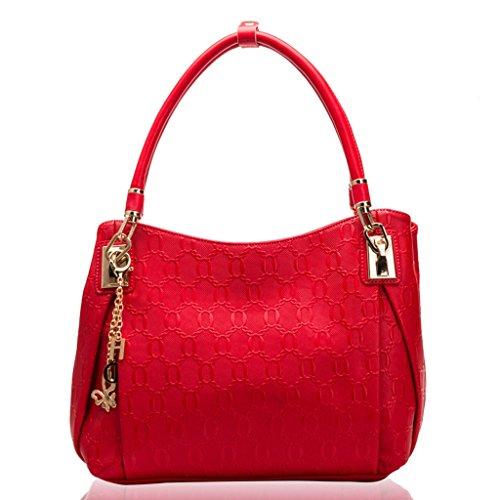 Sac européenne sac bandoulière et Messenger de américaine sac mode à PU Jujube féminin sac féminin sac à mode main rqfxOArpw