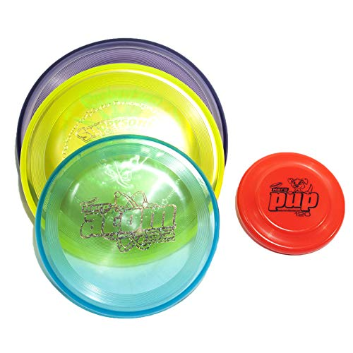 Hero Super Candy Combo Canine Flying 4 Disc Set - Free Pup ()