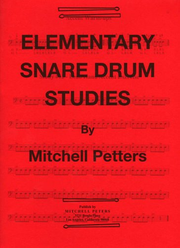 Drum Elementary - TRY1063 - Elementary Snare Drum Studies