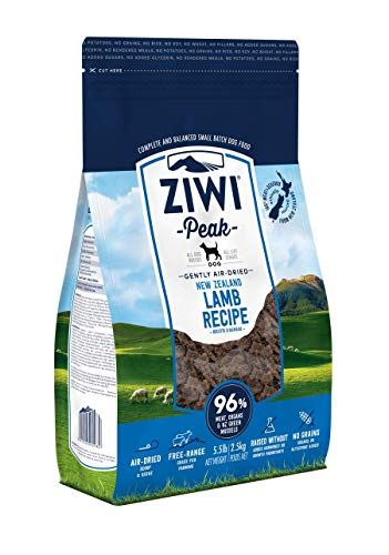 Ziwi Peak Air-Dried Lamb Dog Recipe Dog Food (5.5lb) (Puppy Food With Meat As First Ingredient)