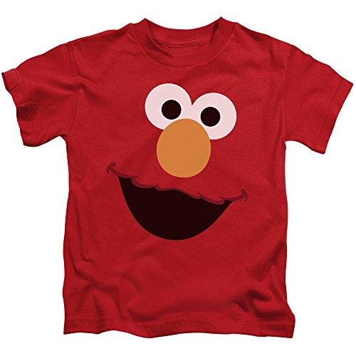 Juvenile: Sesame Street- Big Elmo Face Kids T-Shirt Size 4