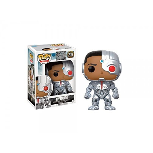 justice+league Products : Funko POP! Movies: DC Justice League – Cyborg Toy Figure