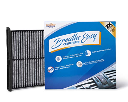 Installer Champ Premium Breathe Easy Cabin Filter, Up to 25% Longer Life w/Activated Carbon (BE-811)