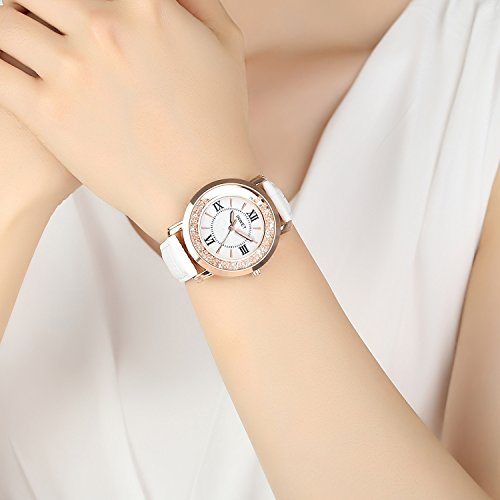 c3a0b33dc3040 INWET Crystal Wristwatch for Women and Girls