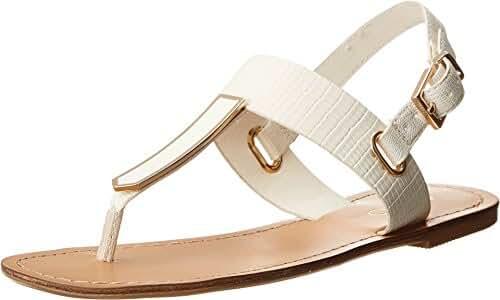 ALDO Women's Adraedda White Sandal 37.5 (US Women's 7) B - Medium
