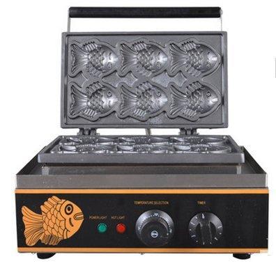 Tlegend Instrument FY-112 Electric fish cake grill machine Waffle Cookie Machine taiyaki maker machine 110V/220V