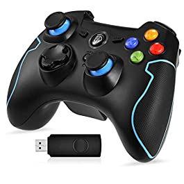 EasySMX Wireless 2.4g Game Controller Support PC (Windows XP...