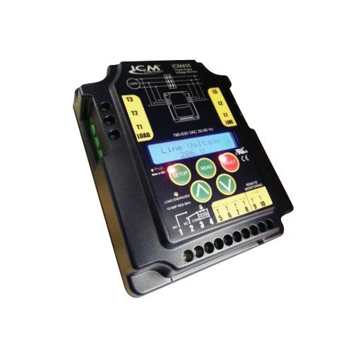 Three Phase Line Voltage Monitor - ICM455 3 Phase Line Voltage Monitor w/ LED Display
